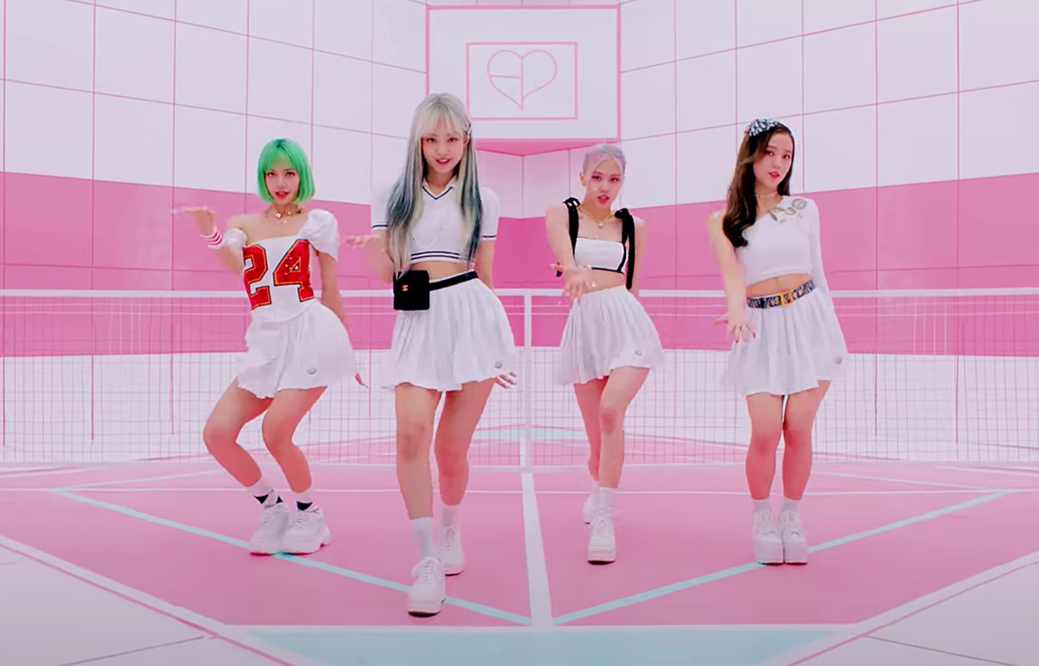 Blackpink in their new music video