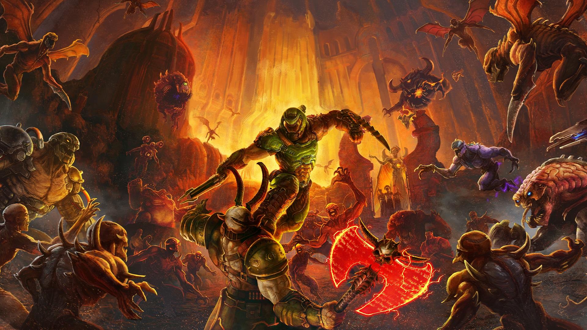Doom Eternal official artwork