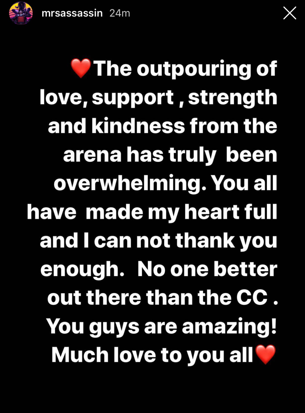 dr disrespect wife instagram post