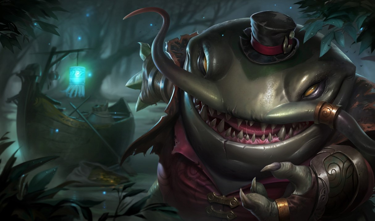 Tahm Kench could see his iconic kit shuffled around slightly in a Season 10 mini-rework.