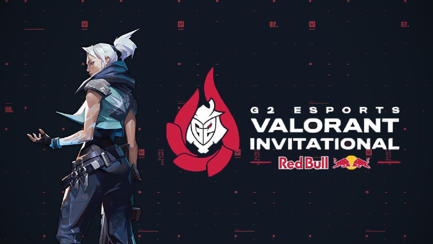 G2 esports tournament logo on valorant background