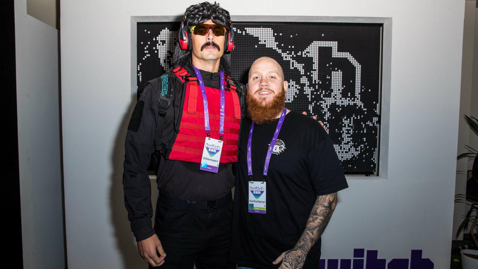 Dr Disrespect and TimTheTatman at TwitchCon