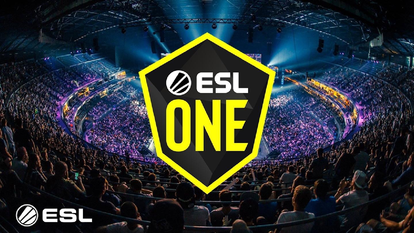 ESL One Cologne with esl logo