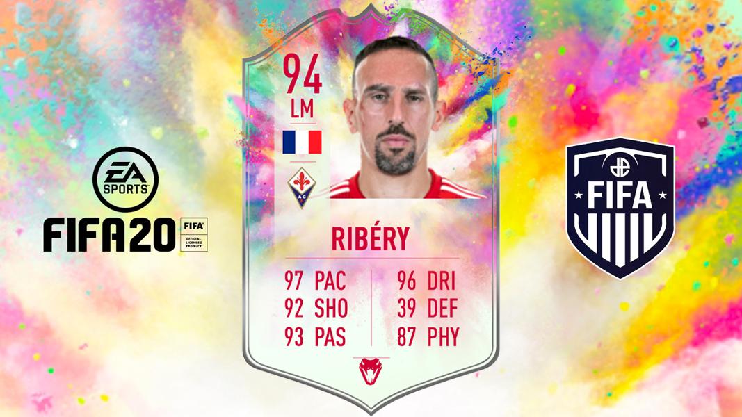 Franck Ribery Summer Heat on FIFA 20 Background