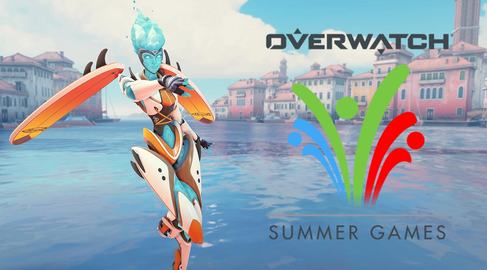 Overwatch Summer Games 2020 Echo skin