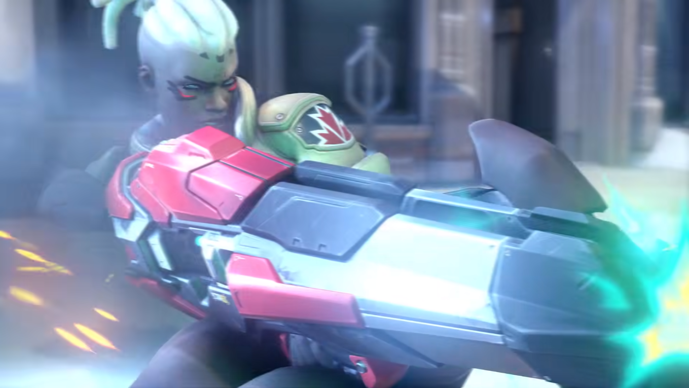 Possible DPS hero Sojourn has already been confirmed for Overwatch 2.