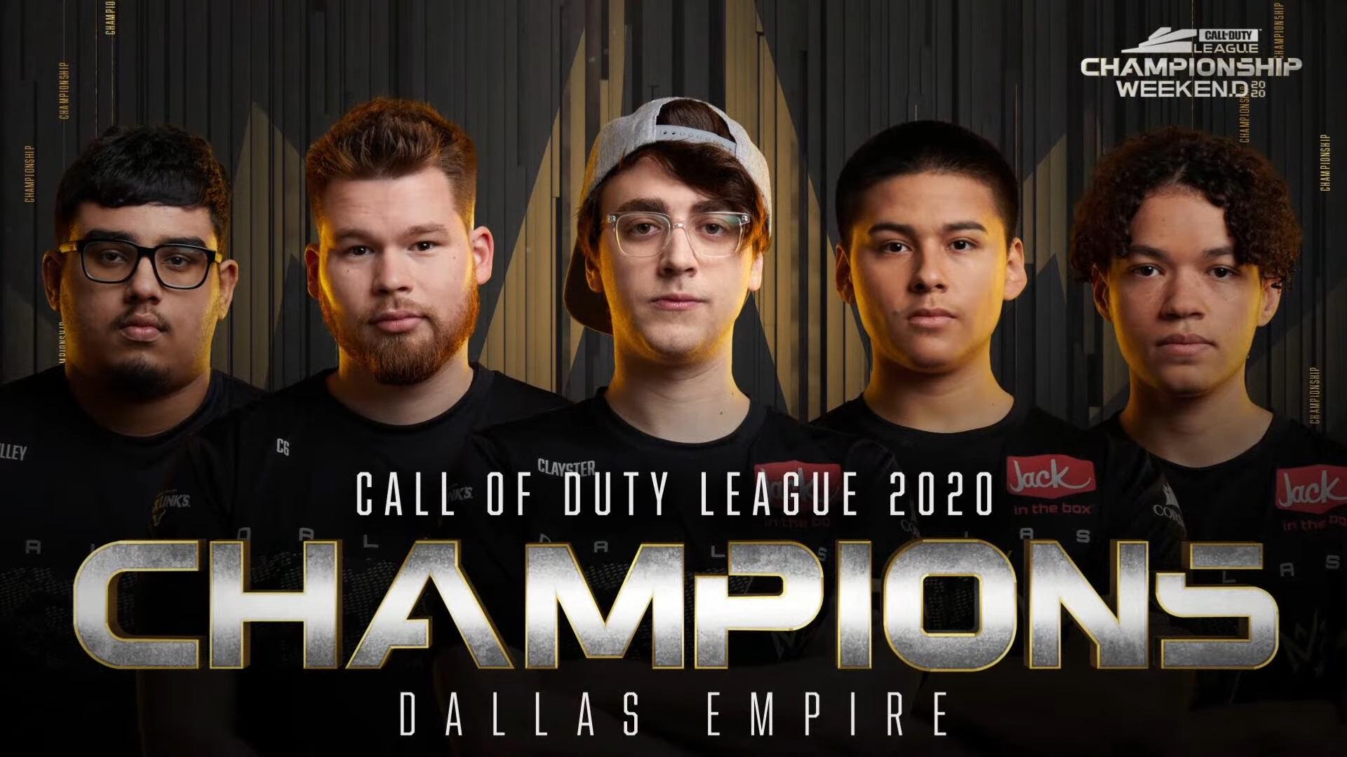 Dallas Empire winning Champs