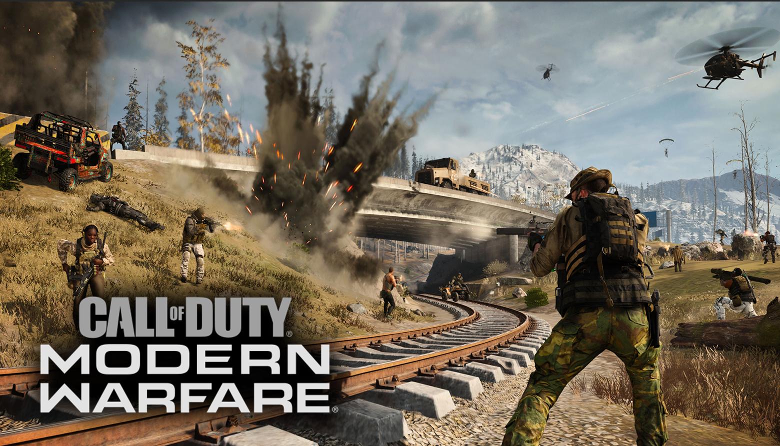 Modern Warfare Warzone gameplay