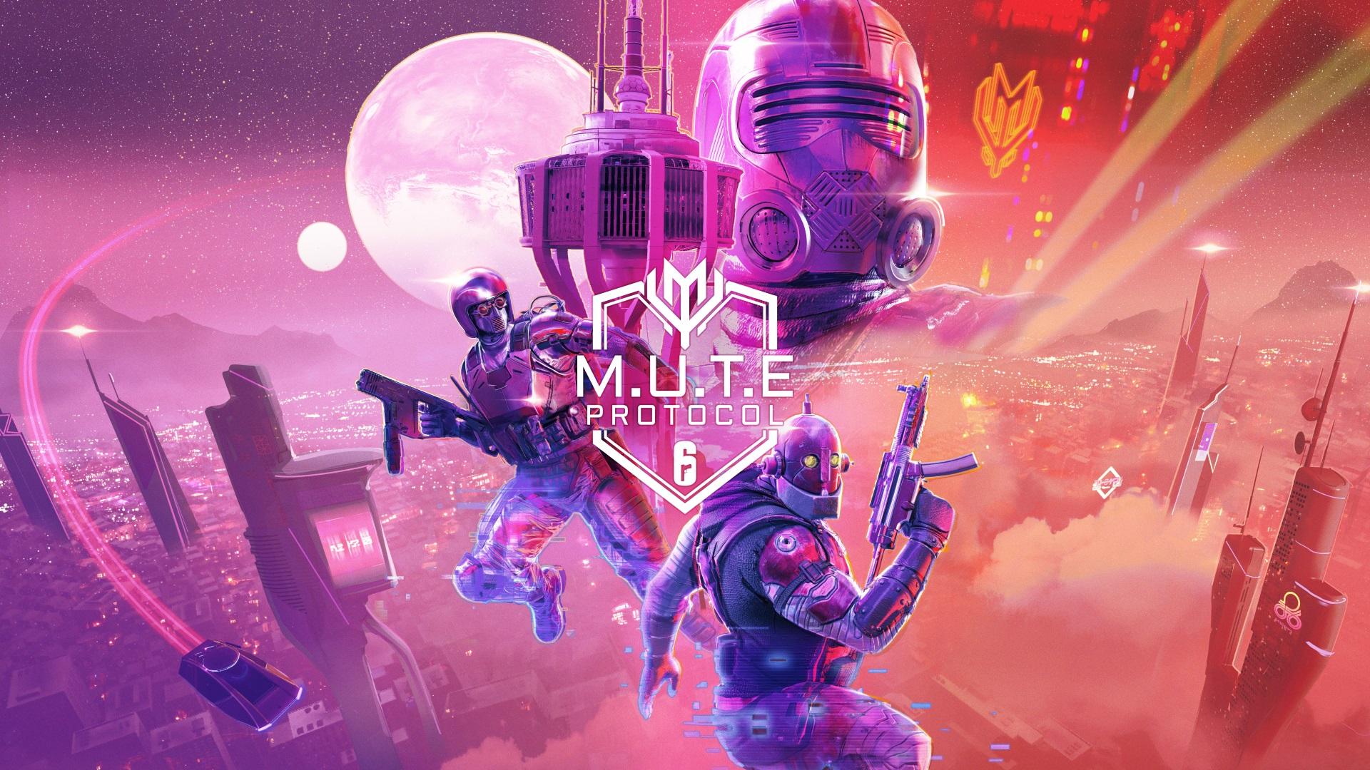 MUTE Protocol event header in Rainbow Six Siege