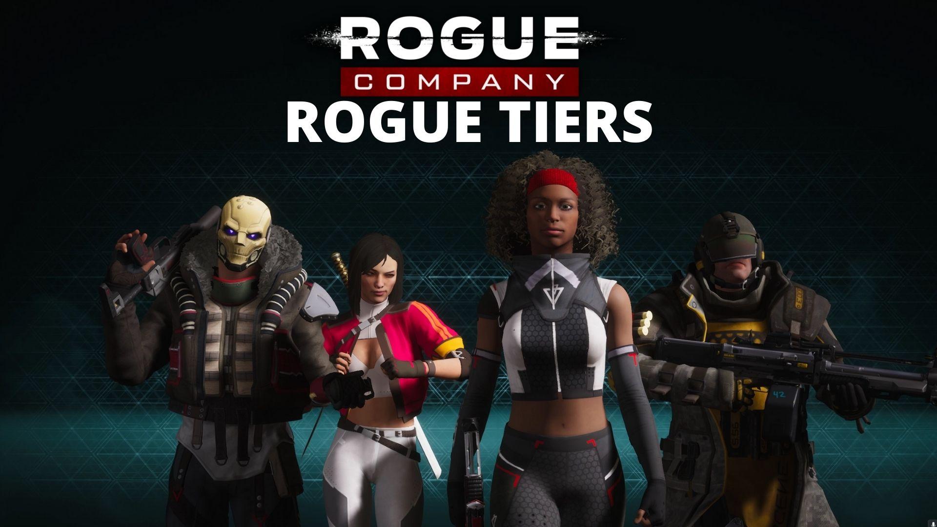 Rogue Company tier list