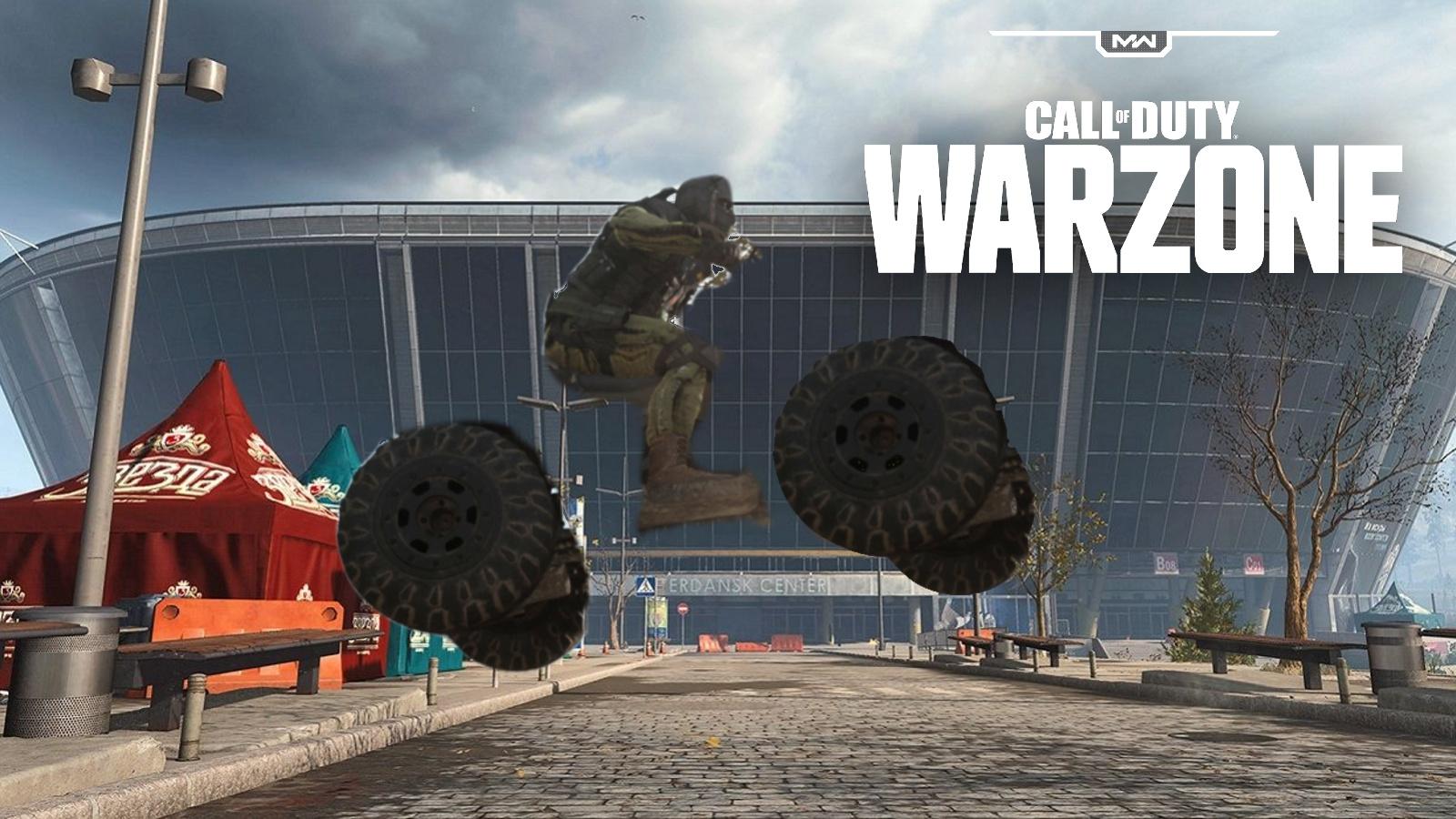 Warzone stadium invisible ATV