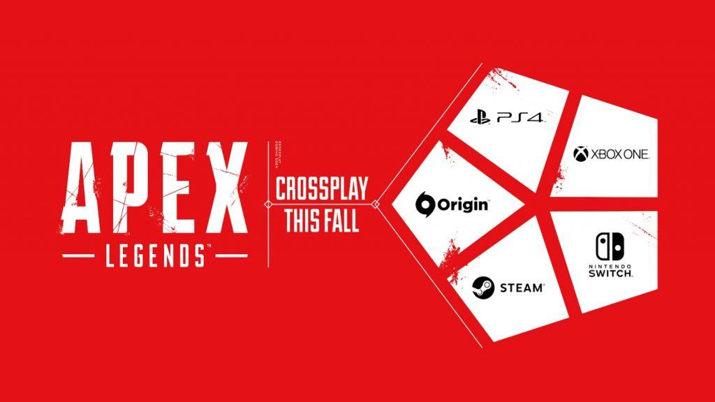 Apex Legends Crossplay Announcement Graphic EA