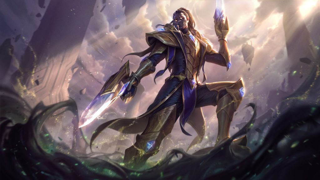 Victorious Lucian in League of Legends