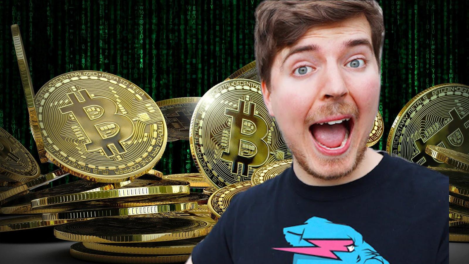 Mr Beast and Bitcoin