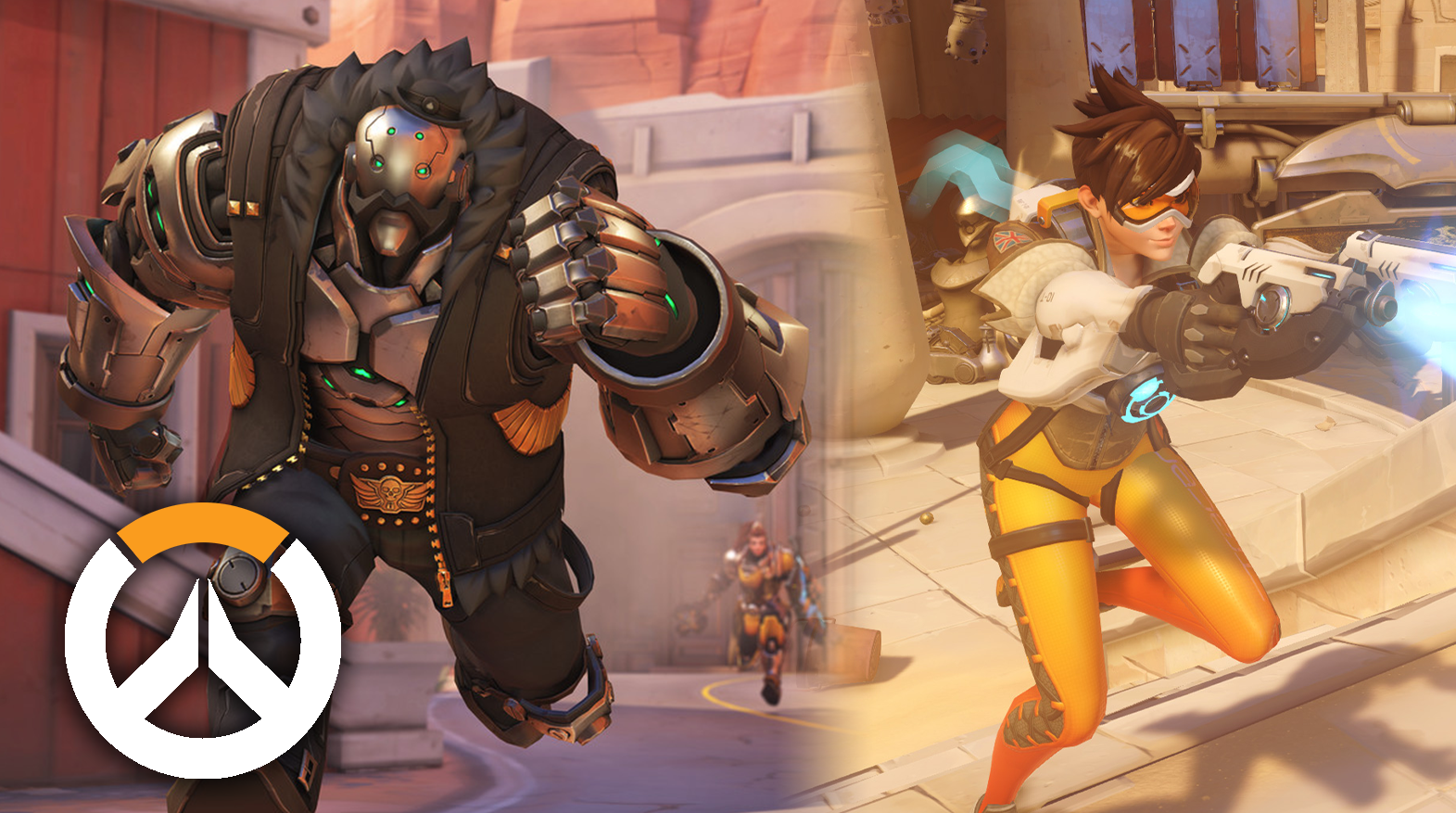 Overwatch BOB and Tracer