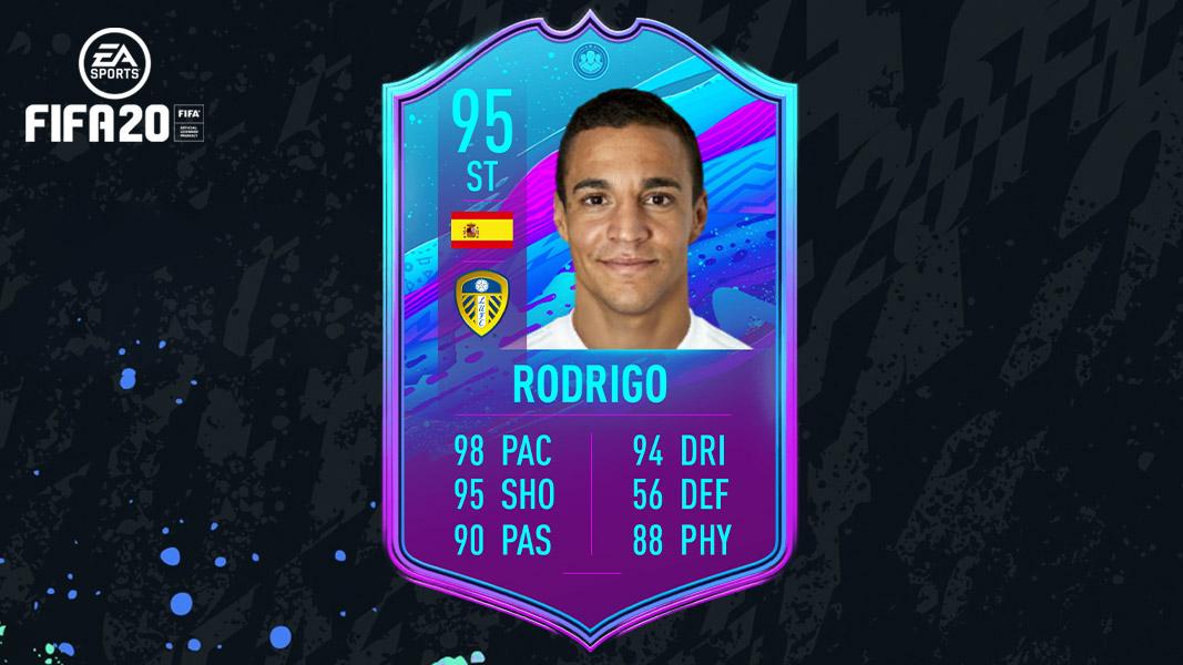 Rodrigo Moreno Leeds United card FIFA 20