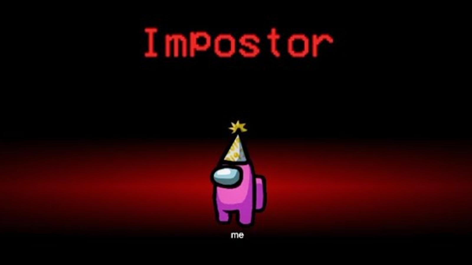Among us 'Impostor' screen