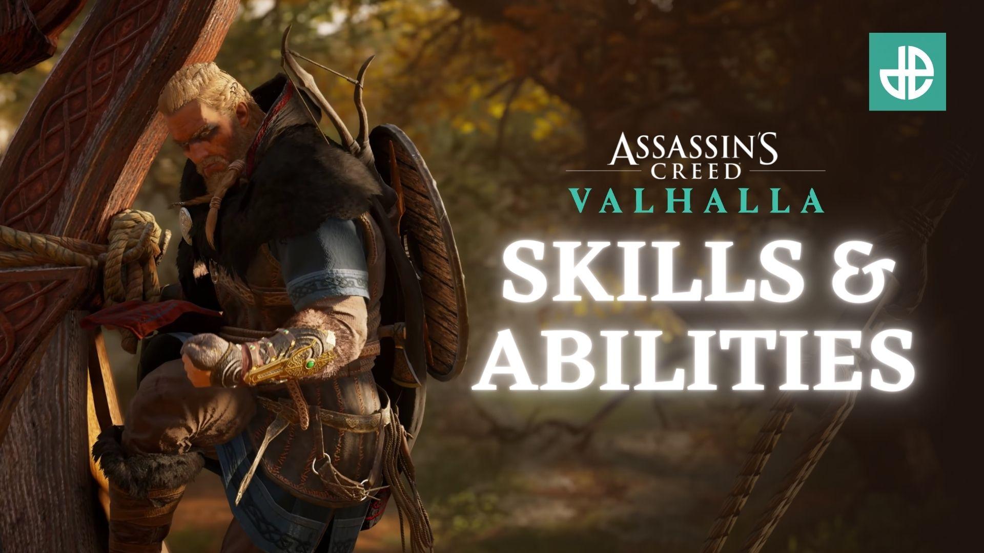 Eivor climbing in Assassin's Creed Valhalla