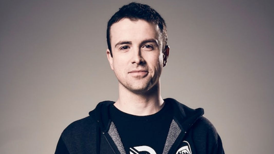DrLupo against a grey background