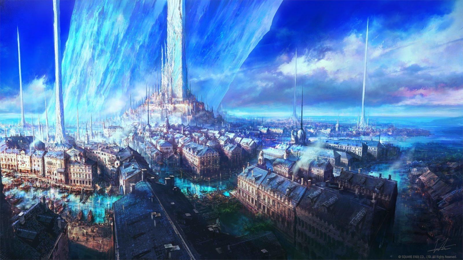 Screenshot from final fantasy 16