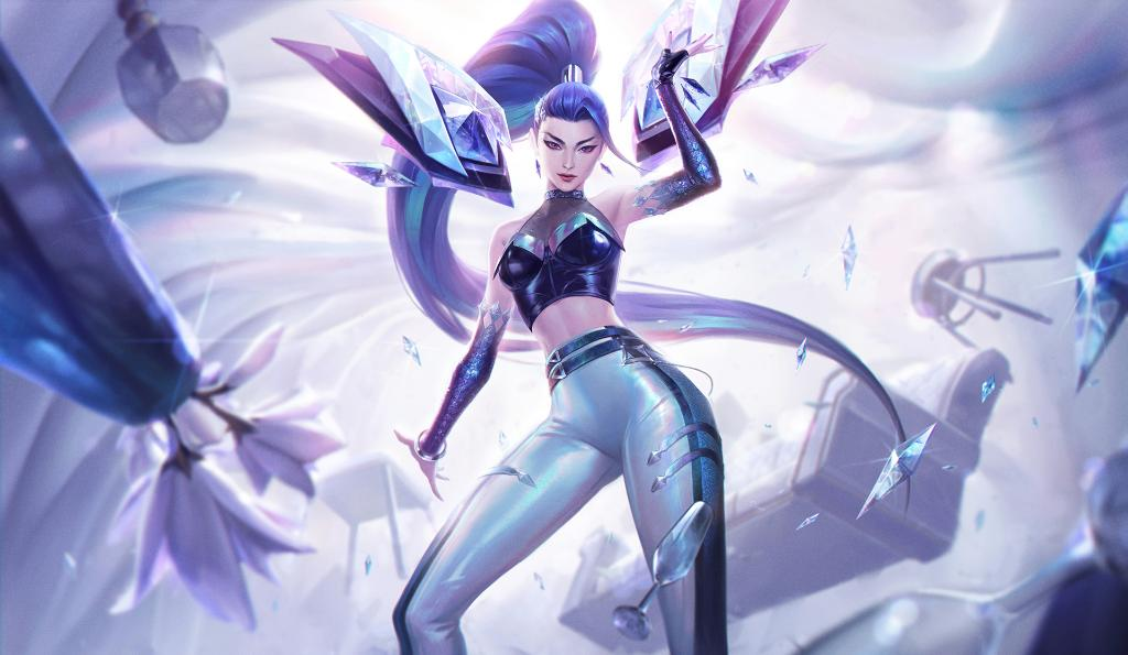KDA All Out Kai'Sa in League of Legends