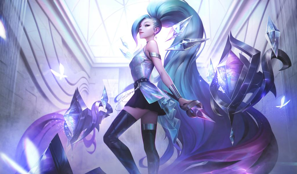 KDA All Out Seraphine Superstar in League of Legends