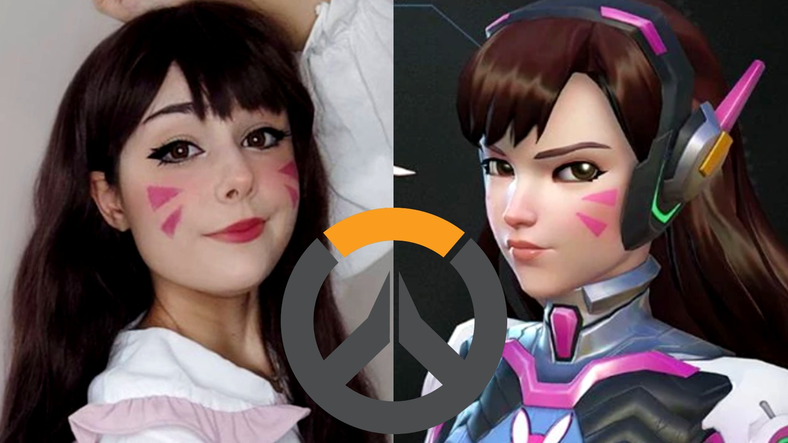 Cosplayer nymphahri as D.Va from Overwatch