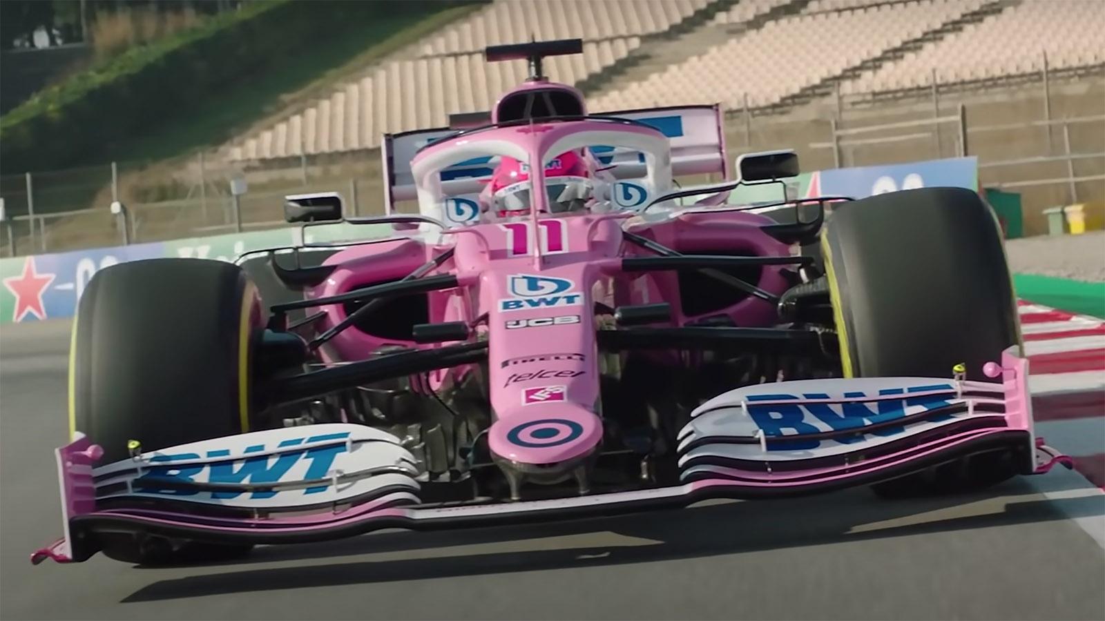 Racing Point RP20 car