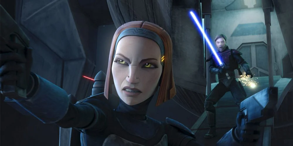 """It's not clear how Bo-Katan and Cara Dune will """"team-up"""" in their new spinoff series."""