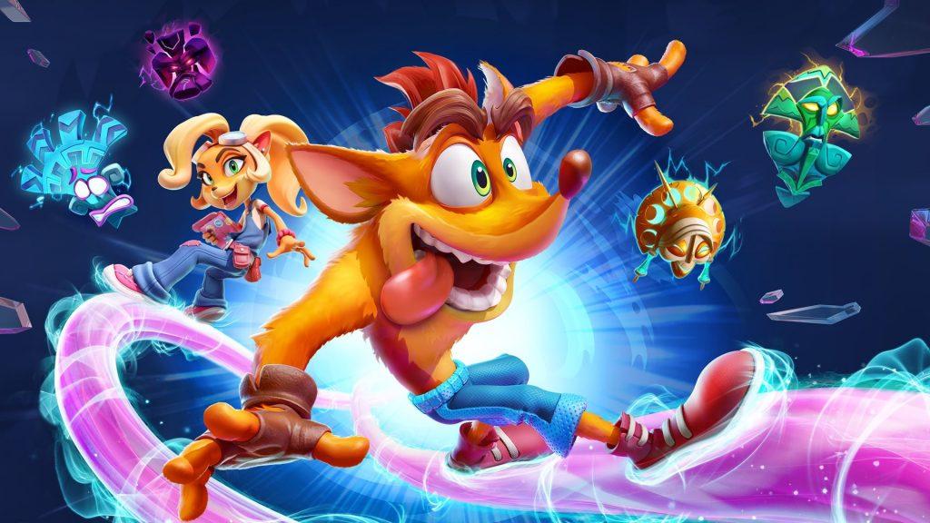Crash Bandicoot from Crash 4