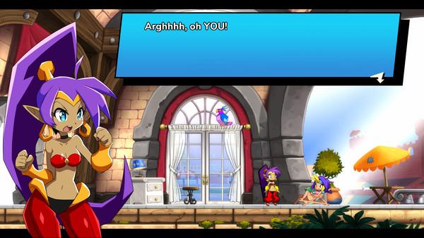 Shantae being loud