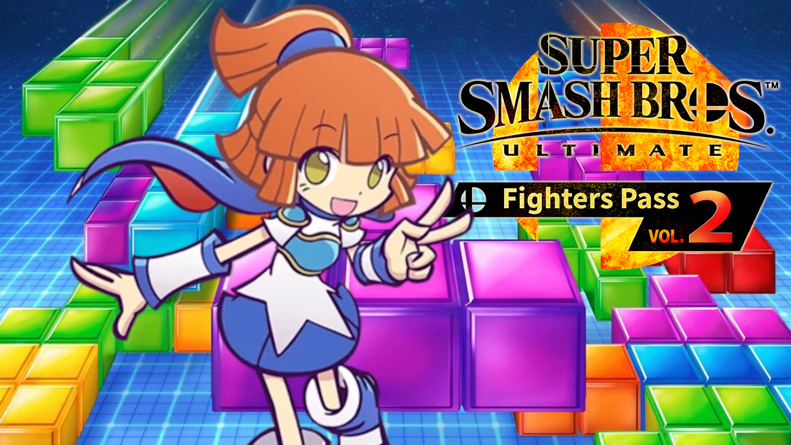 Arle from Puyo Puyo and Tetris in Smash Ultimate