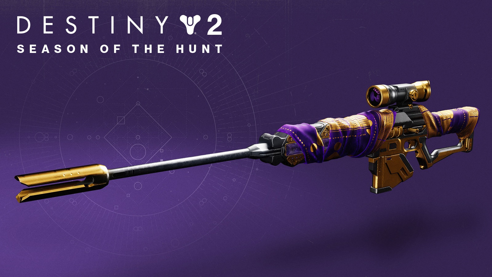 Destiny 2 Adored Sniper With Season of the Hunt Text