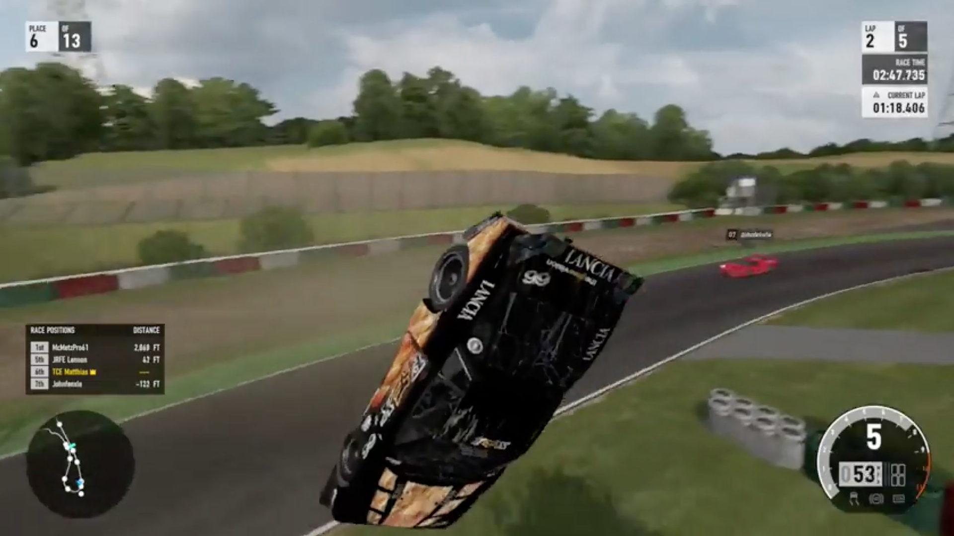 Forza Motorsport space glitch