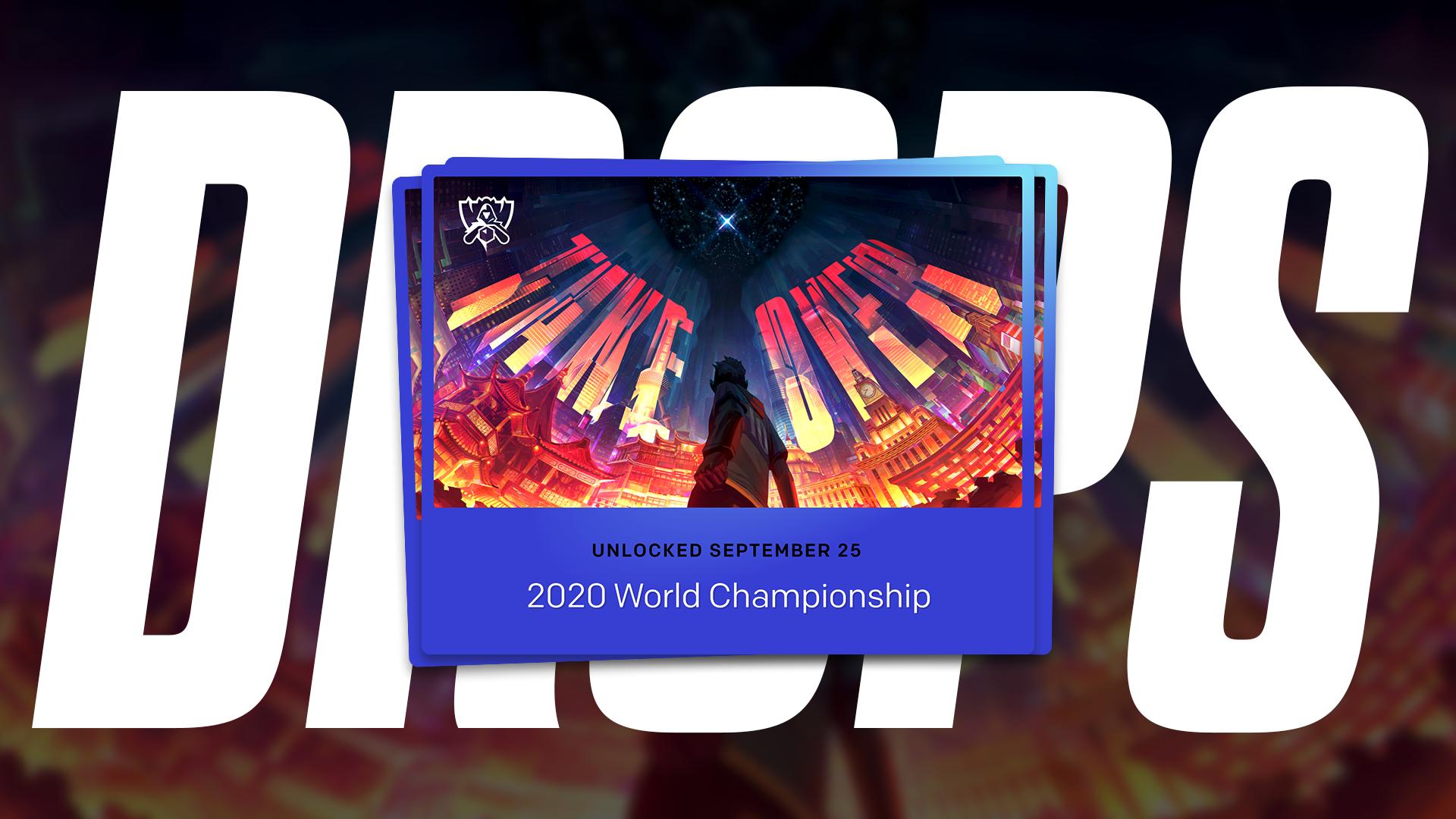 League of Legends Worlds 2020 drops