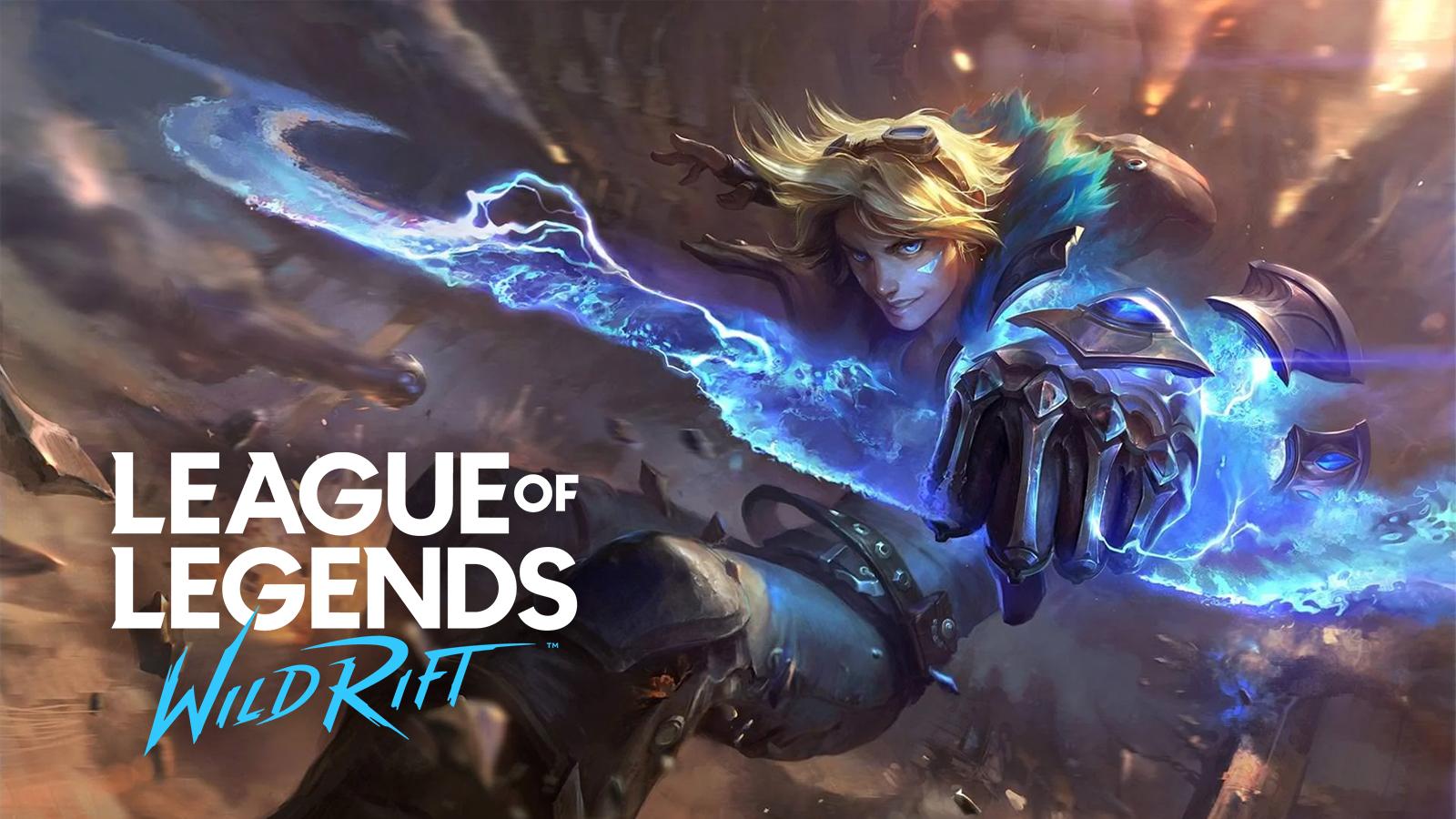 Ezreal in League of Legends Wild Rift