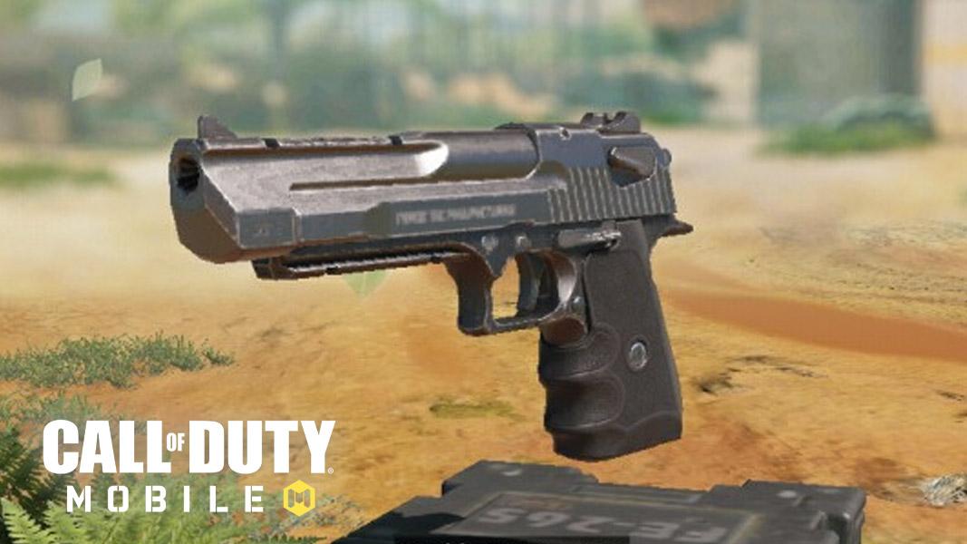 Desert Eagle pistol, the .50 GS handgun, in CoD Mobile