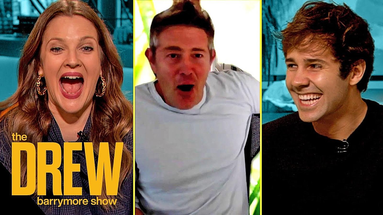 Drew Barrymore Show David Dobrik Jason Nash
