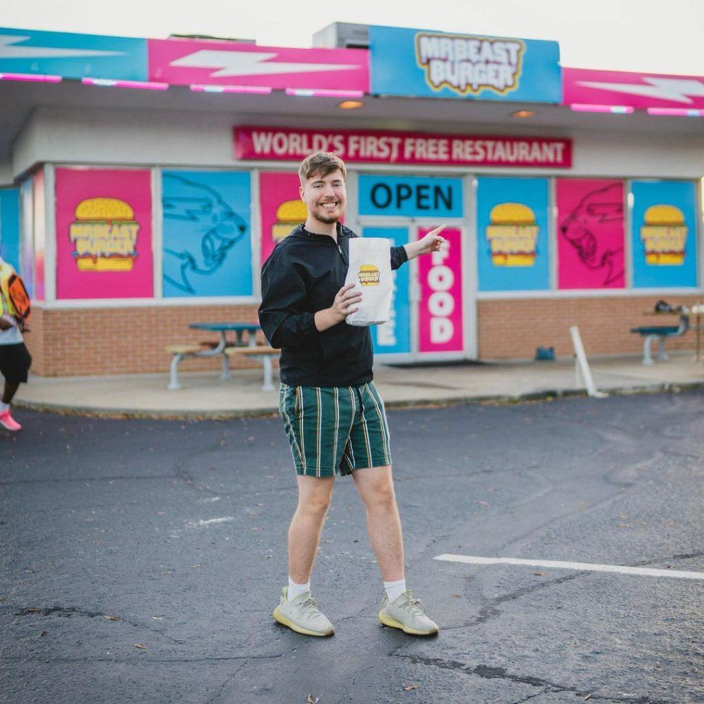 MrBeast burger restaurant launch