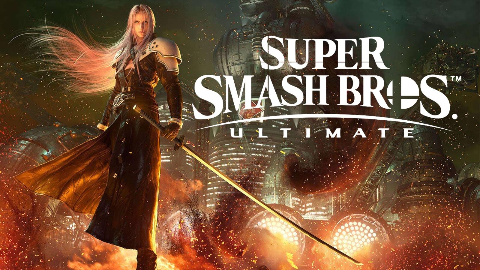 Sephiroth Super Smash Bros Ultimate