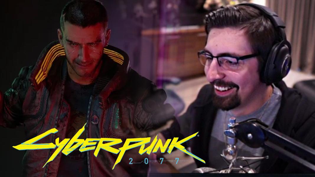 Shroud next to V from Cyberpunk 2077