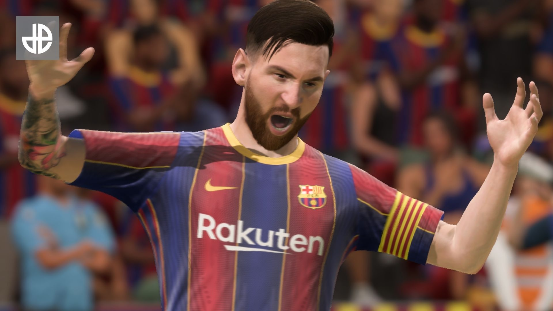 Lionel Messi furious at EA SPORTS nerf in FIFA 21 Ultimate Team.