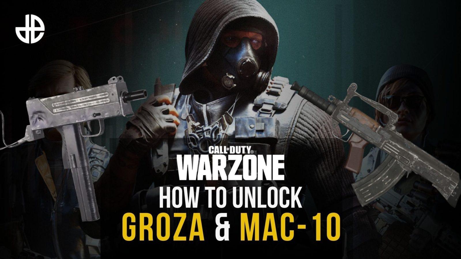 Groza and MAC-10