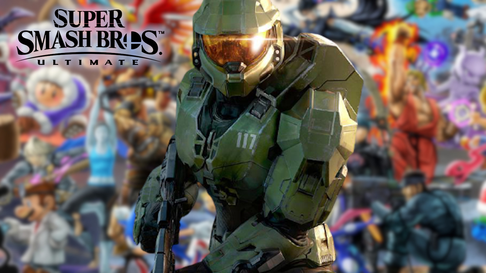 Master Chief in Smash Ultimate