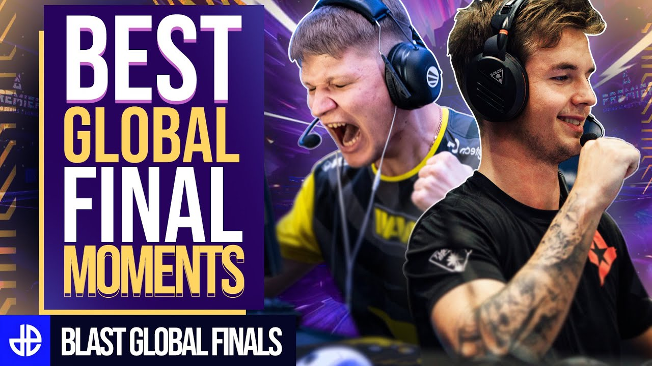 Devc1ce and S1mple BLAST Global Finals