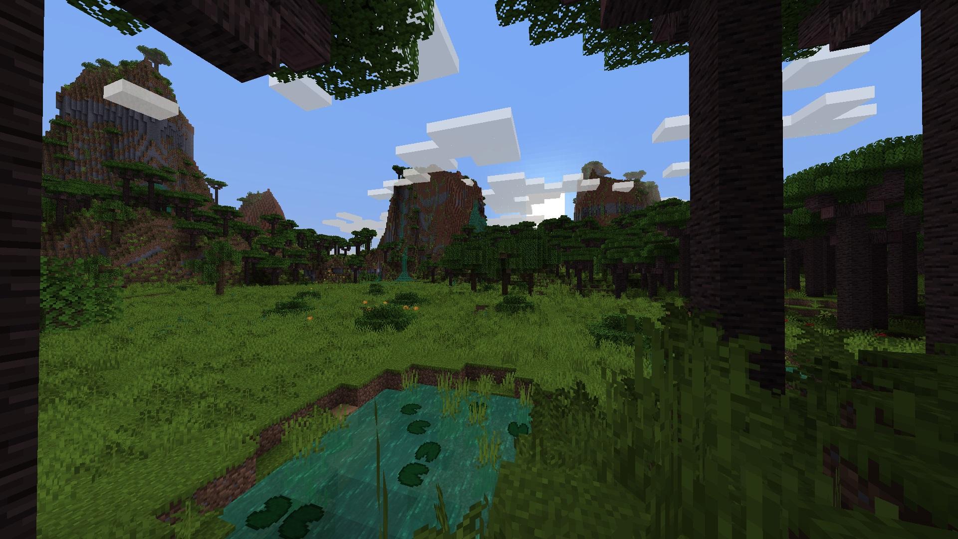 Minecraft Biomes mod