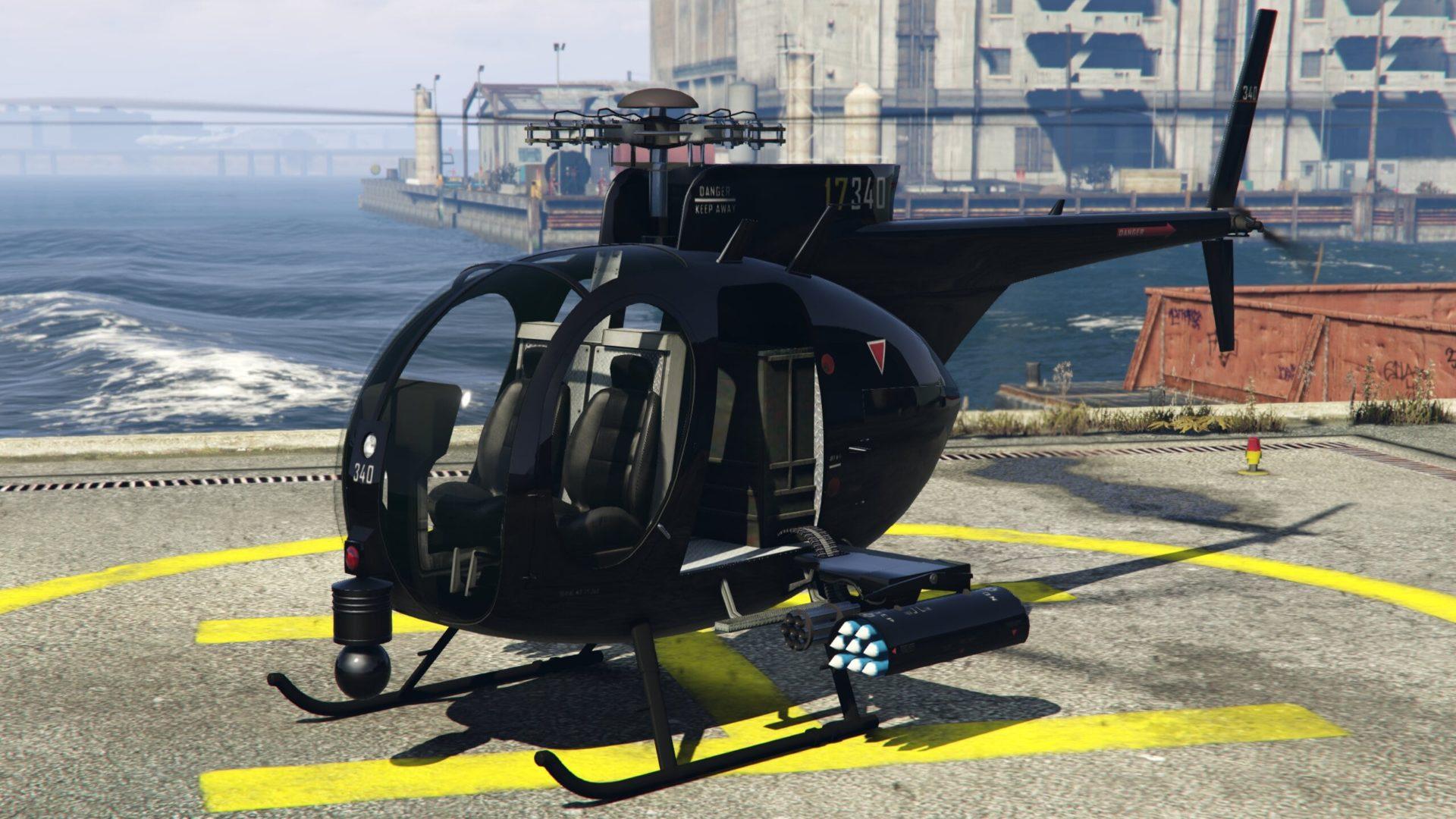 Buzzard attack chopper GTA