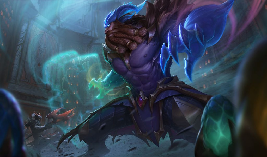 Dragon Oracle Udyr in League of Legends