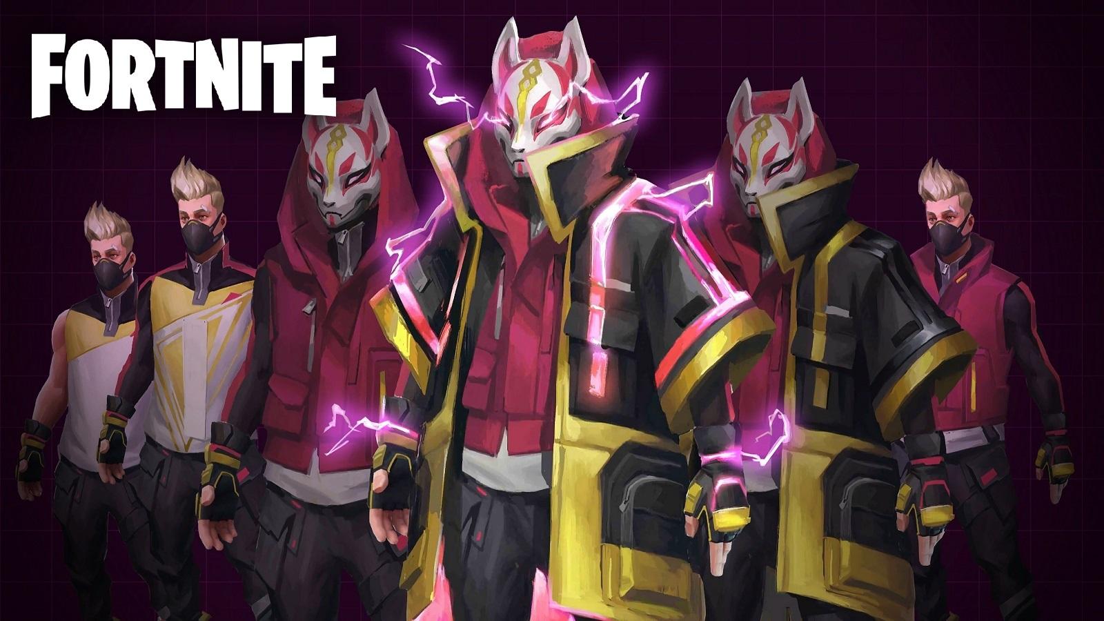 Fortnite Drift Loading Screen With Logo