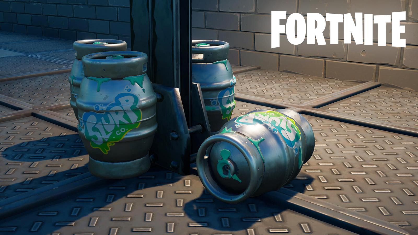 Fortnite Slurp Barrels locations